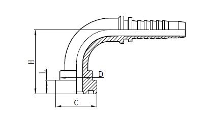 4SH letkukokoonpano kiinnitys Piirustus